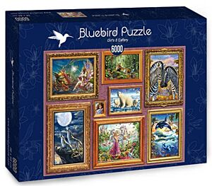 Girl's 8 Gallery - Bluebird Puzzle