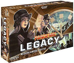 Pandemic Legacy Seizoen 0 (Z-Man Games)