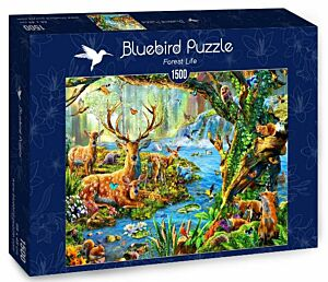 Forest Life (Bluebird puzzle)