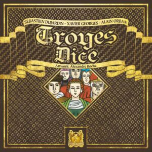 Troyes Dice game (Pearl Games)